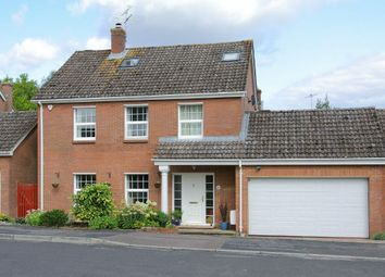 Thumbnail 5 bed detached house for sale in Burdock Close, Goodworth Clatford