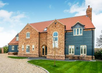 Thumbnail 6 bedroom detached house for sale in Murrow Bank, Murrow, Wisbech