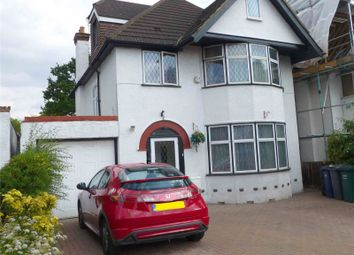 Thumbnail 3 bed flat to rent in Woodcroft Avenue, London