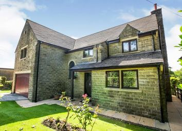 Thumbnail 4 bed detached house for sale in Littlemoor, Queensbury, Bradford, West Yorkshire