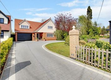Thumbnail 4 bed detached house for sale in Church Road, West Hanningfield