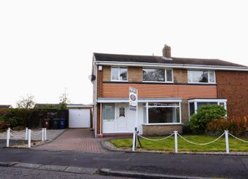 Thumbnail 3 bedroom semi-detached house for sale in Norwood Road, Newcastle Upon Tyne