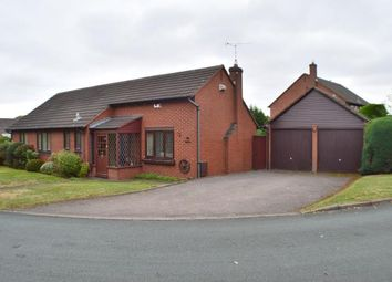 Thumbnail 3 bed bungalow for sale in Bracken Close, Boley Park, Lichfield, Staffordshire