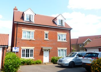 Thumbnail 5 bedroom detached house to rent in Yew Tree Close, Mildenhall, Bury St. Edmunds