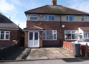 Thumbnail 3 bed semi-detached house to rent in Colchester Road, Leicester