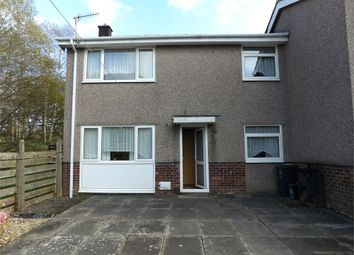 Thumbnail 2 bed semi-detached house for sale in Min Y Rhos, Ystradgynlais, Swansea, Powys