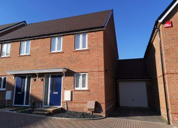 Thumbnail 2 bed semi-detached house for sale in Coltsfoot Way, Longacre, Basingstoke