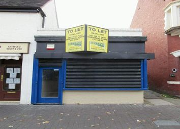 Thumbnail Retail premises to let in 86 Stafford Street Willenhall Town Centre, Wolverhampton