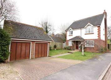 Thumbnail 4 bed detached house for sale in Strawberry Fields, Bramley, Tadley