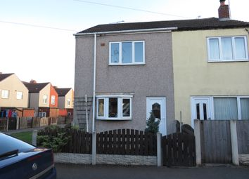 2 bed semi-detached house for sale in Victoria Street, Creswell, Worksop S80