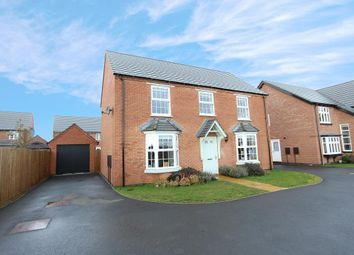 Thumbnail 4 bed detached house for sale in Osborne Road, West Haddon, Northampton