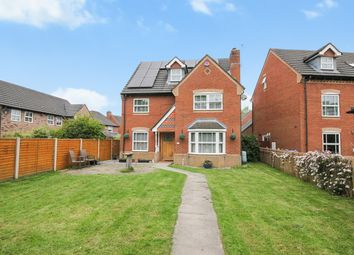 Thumbnail 4 bed detached house for sale in Chesterton Drive, Winwick, Warrington
