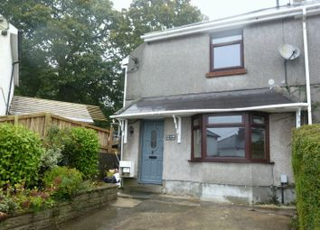 Thumbnail 3 bed semi-detached house to rent in Maes Y Deri, Cilfrew, Neath