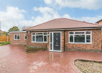 Thumbnail 4 bed detached bungalow for sale in Stenson Road, Derby