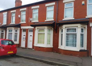 Thumbnail 3 bed terraced house to rent in Chinley Avenue, Manchester