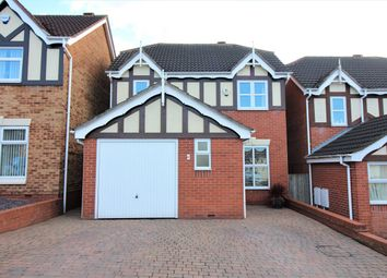 Thumbnail 3 bedroom detached house for sale in Salcombe Close, Newthorpe, Nottingham