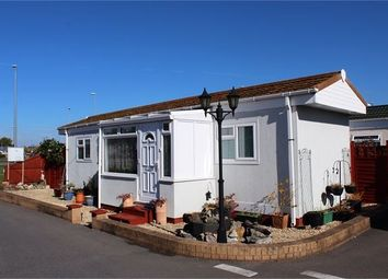 Thumbnail 1 bed mobile/park home for sale in Paddock Park, New Bristol Road, Weston-Super-Mare, North Somerset.