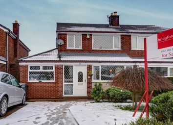 Thumbnail 4 bedroom semi-detached house for sale in Carrbrook Crescent, Carrbrook, Stalybridge, Greater Manchester