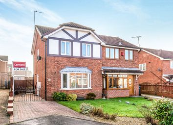 Thumbnail 3 bed semi-detached house for sale in Redwing Drive, Huntington, Cannock