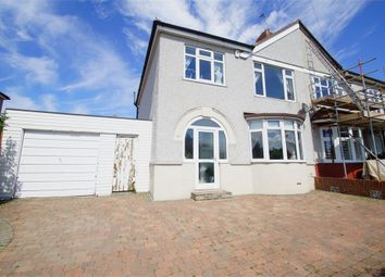 Thumbnail 3 bed semi-detached house for sale in Willersley Avenue, Sidcup, Kent