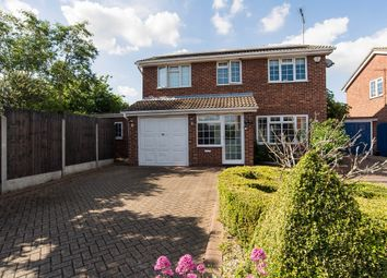 Thumbnail 4 bed detached house for sale in Shepard Close, Eastwood, Leigh-On-Sea