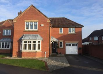 Thumbnail 4 bed detached house for sale in Keld Close, Hedon, Hull