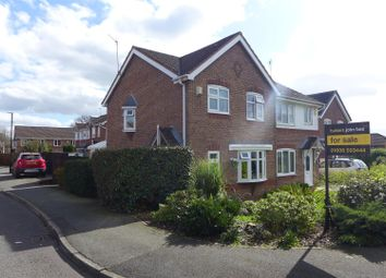Thumbnail 3 bed semi-detached house for sale in Redstone Drive, Winsford