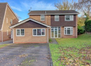 Thumbnail 4 bed detached house for sale in Erdington Road, Aldridge, Walsall