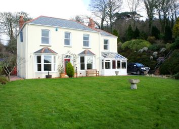 Thumbnail 5 bed detached house to rent in Malpas Road, Truro