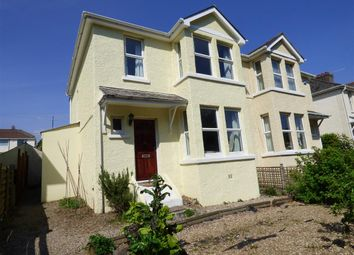 Thumbnail 3 bed semi-detached house for sale in Plymouth Road, Plympton, Plymouth