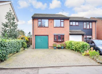 Thumbnail 4 bed semi-detached house for sale in Mackenders Lane, Eccles, Aylesford, Kent