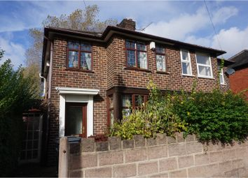 Thumbnail 3 bed semi-detached house for sale in Leek Road, Shelton, Stoke-On-Trent