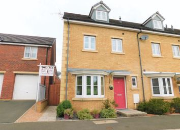 Thumbnail 4 bed semi-detached house for sale in Meadowland Close, Caerphilly