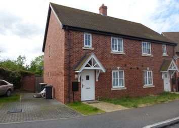 Thumbnail 3 bed semi-detached house for sale in Woodpecker Close, Great Barford, Bedford