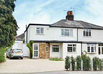 Thumbnail 4 bed semi-detached house for sale in London Road, Hertford Heath