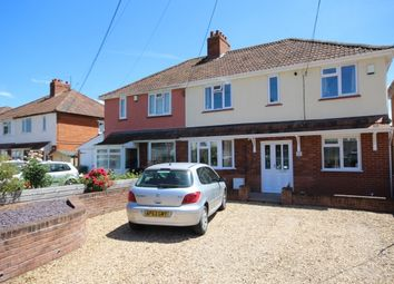 Thumbnail 4 bed semi-detached house for sale in Church Road, Wembdon, Bridgwater