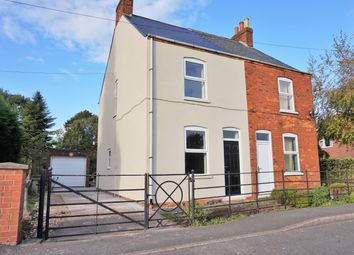 Thumbnail 2 bedroom semi-detached house for sale in Big Lane, Clarborough, Retford