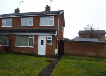Thumbnail 3 bed semi-detached house to rent in Roston Drive, Hinckley