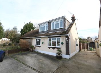 Thumbnail 3 bed semi-detached house for sale in Kingshawes, Benfleet