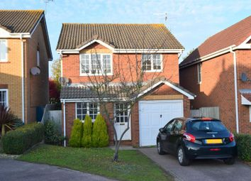 Thumbnail 3 bed detached house for sale in Haughley Drive, Rushmere St. Andrew, Ipswich