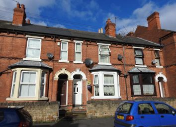 Thumbnail 3 bed terraced house for sale in Laurie Avenue, Forest Fields, Nottingham