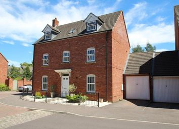 Thumbnail 4 bed detached house for sale in Strawberry Fields, Mortimer
