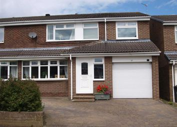 Thumbnail 4 bedroom semi-detached house for sale in Ashkirk, Dudley, Cramlington