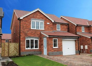 Thumbnail 3 bed detached house for sale in Plot 2, The Wordsworth, Sycamore Gardens, Wootton, North Lincolnshire