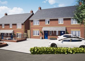 Thumbnail 4 bed semi-detached house for sale in Plot 1, The Firs, Cullompton