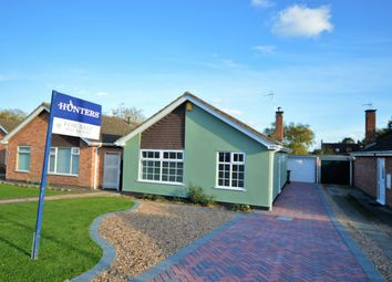 Thumbnail 2 bedroom detached bungalow for sale in Carlton Avenue, Narborough, Leicester