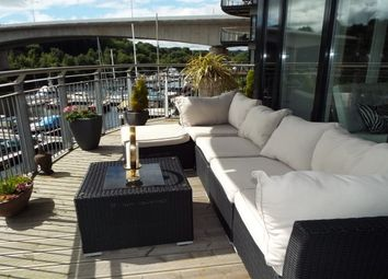 Thumbnail 3 bed flat to rent in Alexandria, Victoria Wharf, Watkiss Way, Cardiff