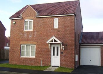Thumbnail 3 bed detached house to rent in Cloverfield, Northumberland Park