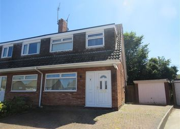 Thumbnail 3 bed semi-detached house to rent in Ennerdale Close, North Anston, Sheffield