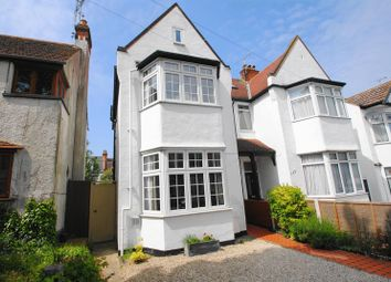 Thumbnail 4 bed semi-detached house for sale in Leighton Avenue, Leigh-On-Sea